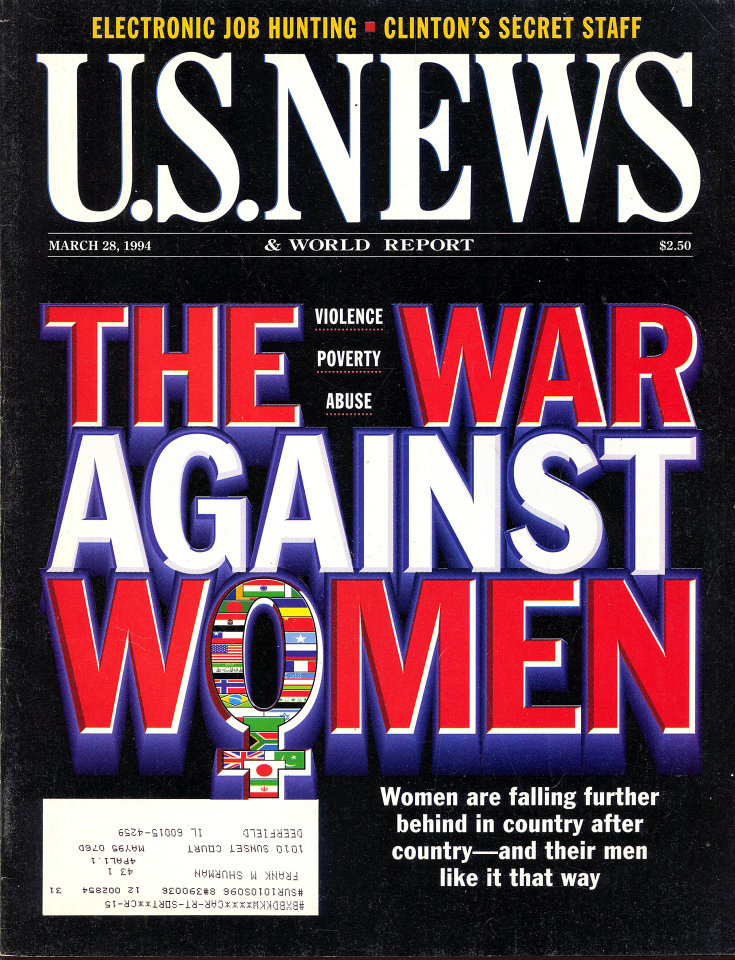 U.S. News & World Report Vol. 116 No. 12