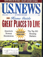 U.S. News & World Report Vol. 116 No. 14 Magazine