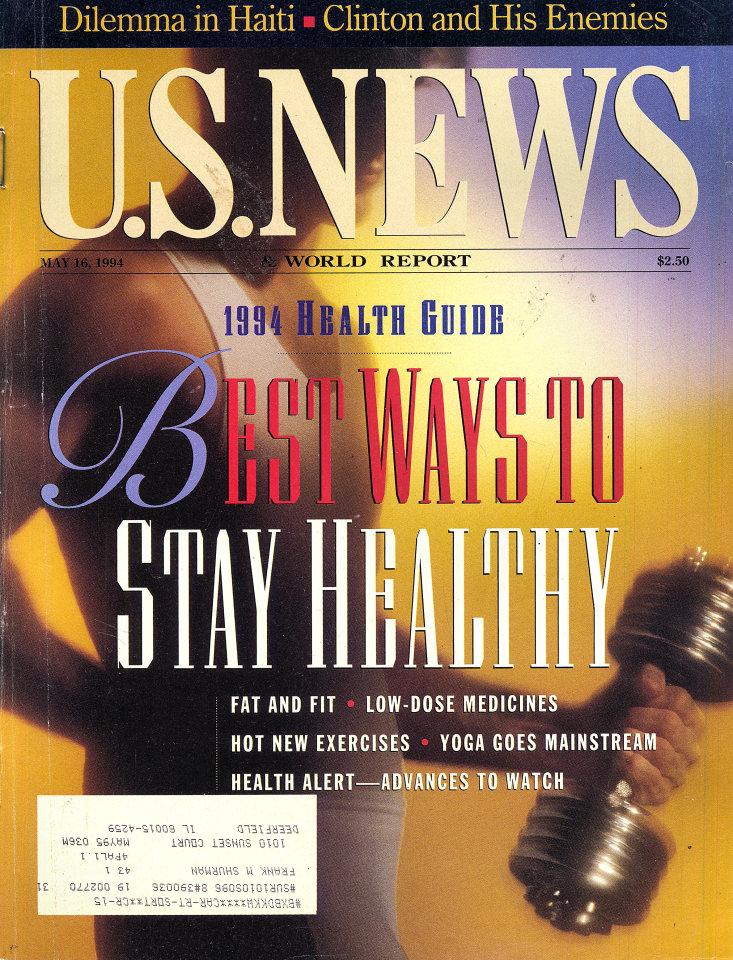U.S. News & World Report Vol. 116 No. 19