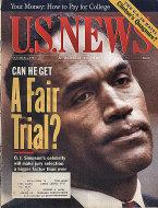U.S. News & World Report Vol. 117 No. 13 Magazine