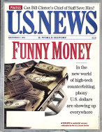 U.S. News & World Report Vol. 117 No. 22 Magazine