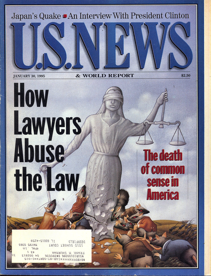 U.S. News & World Report Vol. 118 No. 4