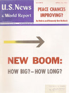 U.S. News & World Report Vol. L No. 15 Magazine