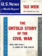 U.S. News & World Report Vol. L No. 16 Magazine