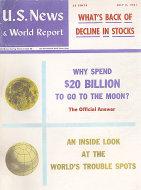 U.S. News & World Report Vol. LI No. 1 Magazine