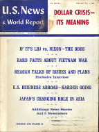 U.S. News & World Report Vol. LXIV No. 13 Magazine