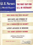 U.S. News & World Report Vol. LXIV No. 19 Magazine