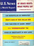 U.S. News & World Report Vol. LXIV No. 20 Magazine