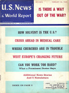 U.S. News & World Report Vol. LXIV No. 9 Magazine