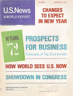 U.S. News & World Report Vol. LXXII No. 2 Magazine