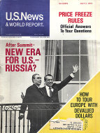 U.S. News & World Report Vol. LXXV No. 1 Magazine