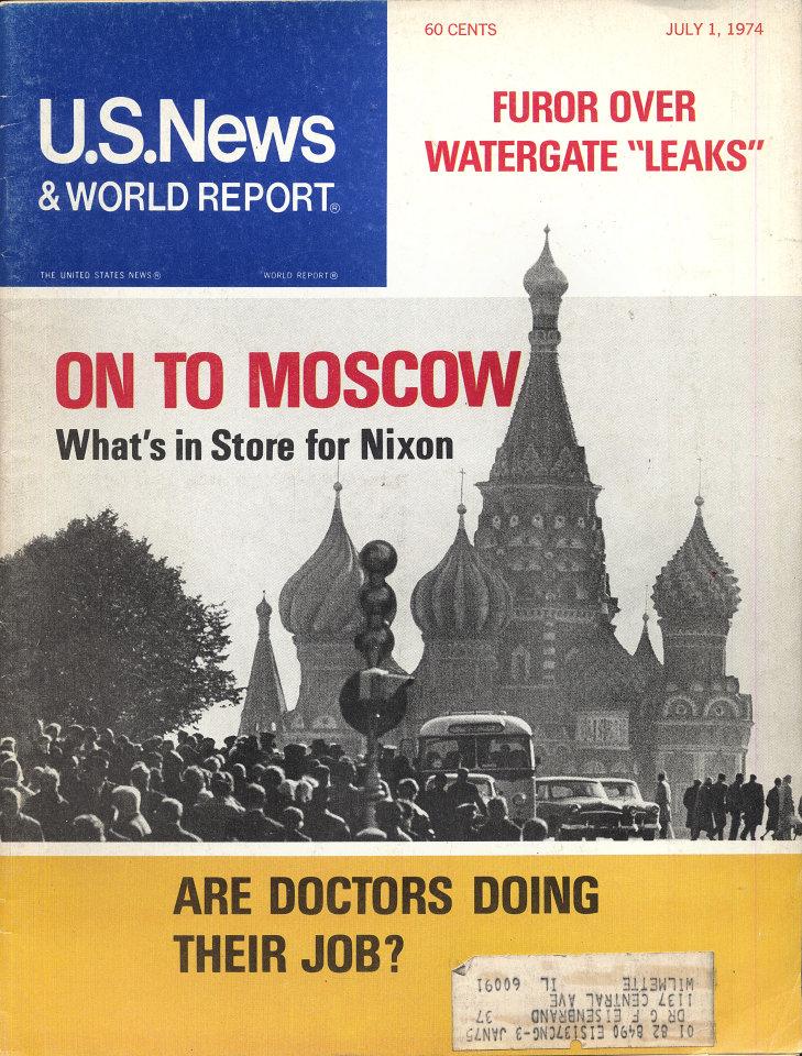 U.S. News & World Report Vol. LXXVII No. 1