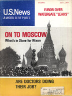 U.S. News & World Report Vol. LXXVII No. 1 Magazine