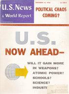 U.S. News & World Report Vol. XLV No. 20 Magazine