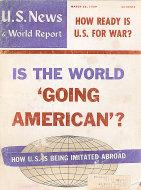 U.S. News & World Report Vol. XLVI No. 12 Magazine