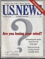 U.S. News Nov 28,1994 Magazine