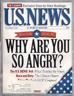 U.S. News Nov 7,1994 Magazine