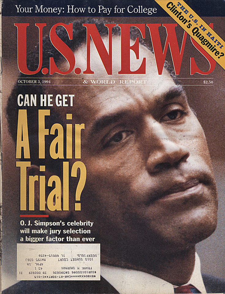 U.S. News Oct 3,1994