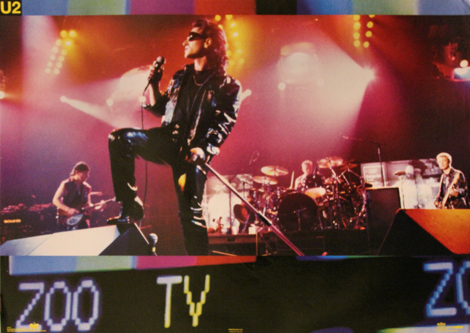 U2: Winterlands Productions Poster