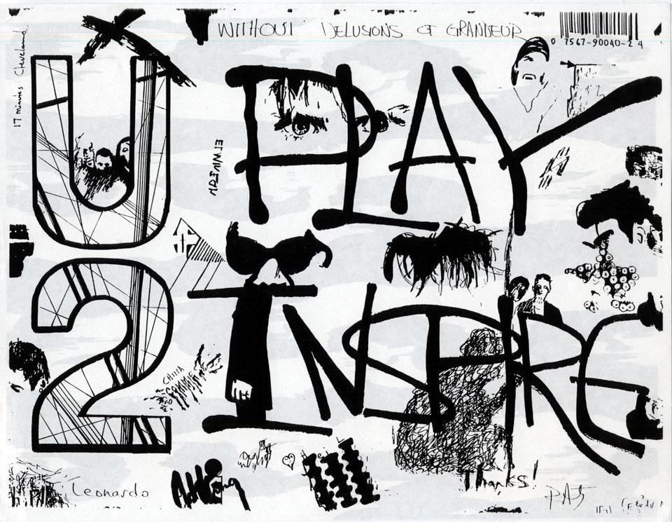 U2 Handbill