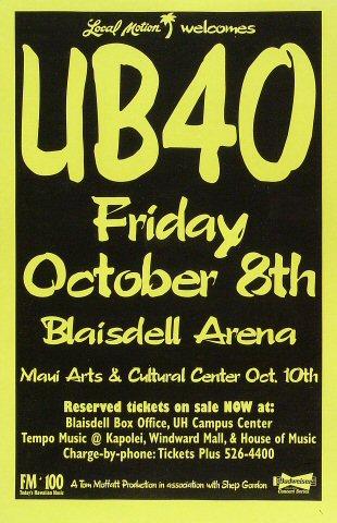 UB40 Poster