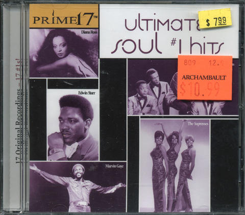 Ultimate Soul #1 Hits CD