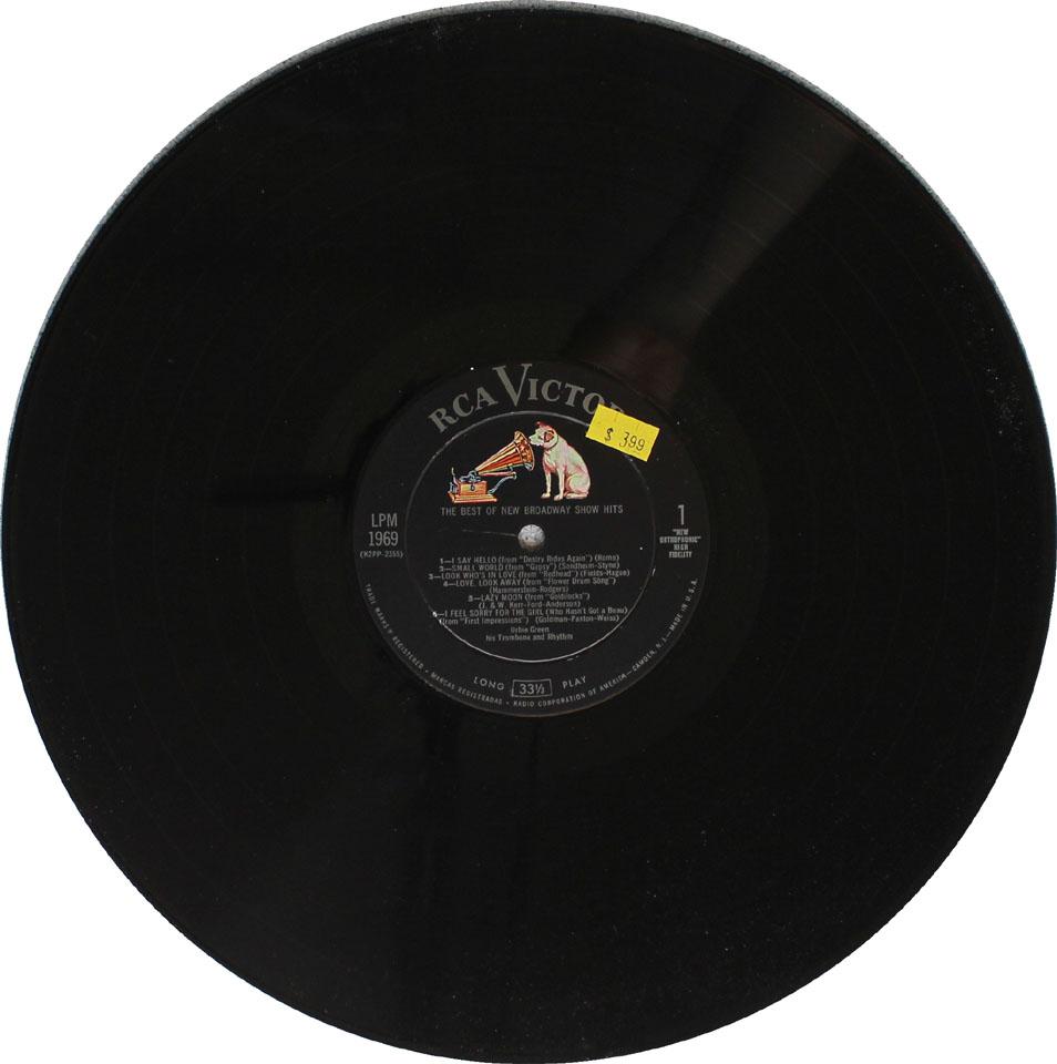 """Urbie Green Vinyl 12"""" (Used)"""