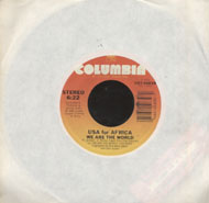 "USA for Africa Vinyl 7"" (Used)"