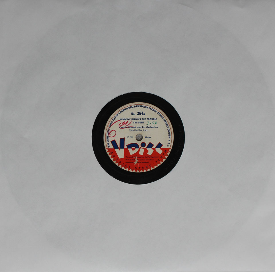 V- Disc No. 364 78