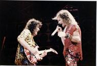 Van Halen Vintage Print