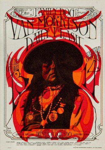Van Morrison Postcard