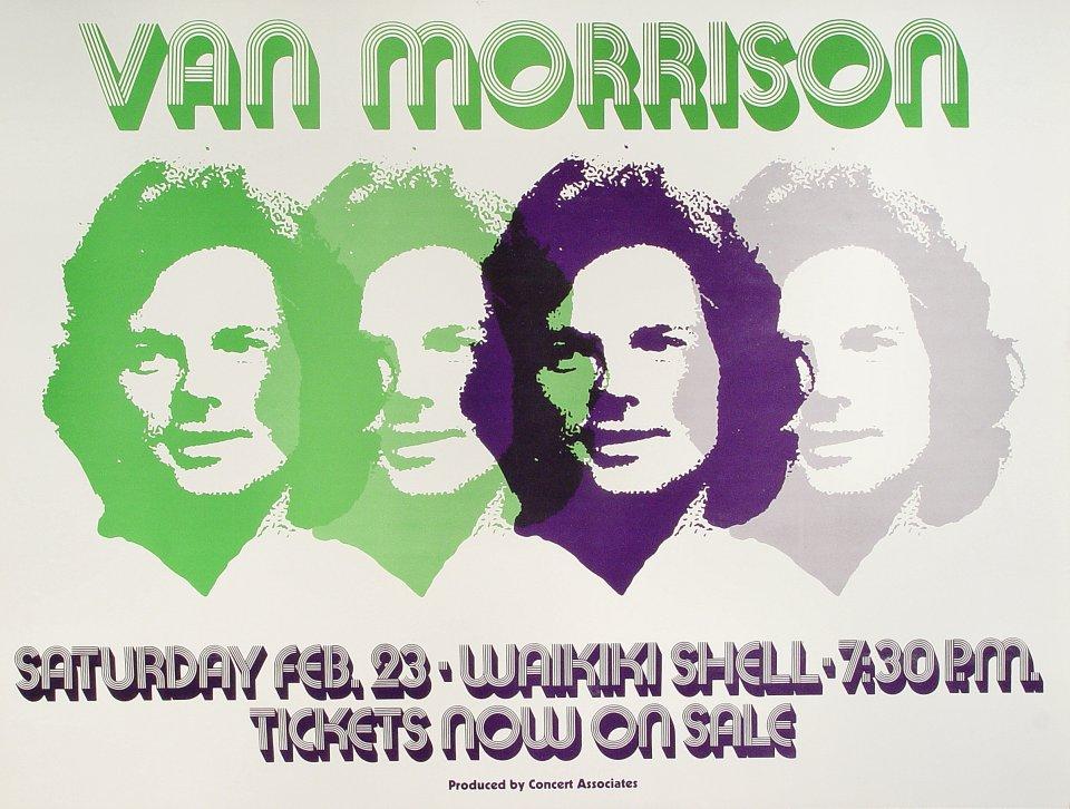 Van Morrison Poster