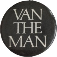 Van The Man Pin