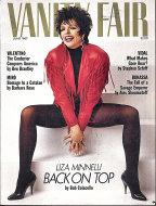 Vanity Fair  Jun 1,1987 Magazine