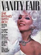 Vanity Fair Magazine December 1984 Magazine