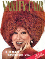 Vanity Fair Magazine December 1987 Magazine