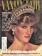 Vanity Fair  Oct 1,1985 Magazine