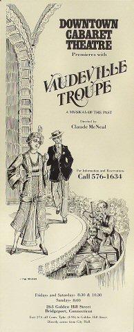 Vaudeville Troupe Poster