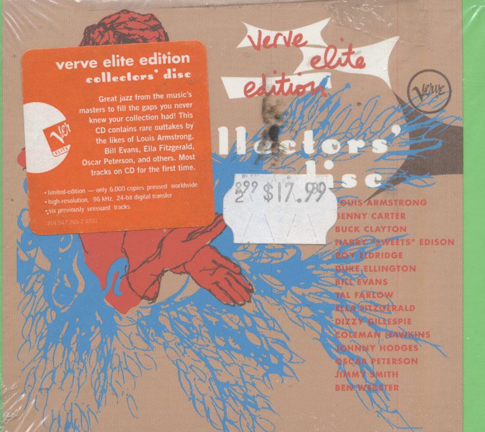 Verve Elite Edition: Collectors' Disc CD