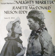"Victor Herbert's ""Naughty Marietta"" June 12, 1944 Vinyl 12"" (New)"