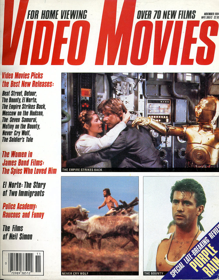Video Movies Nov 1,1984
