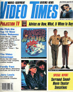 Video Times Magazine April 1985 Magazine