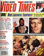 Video Times Magazine March 1985 Magazine