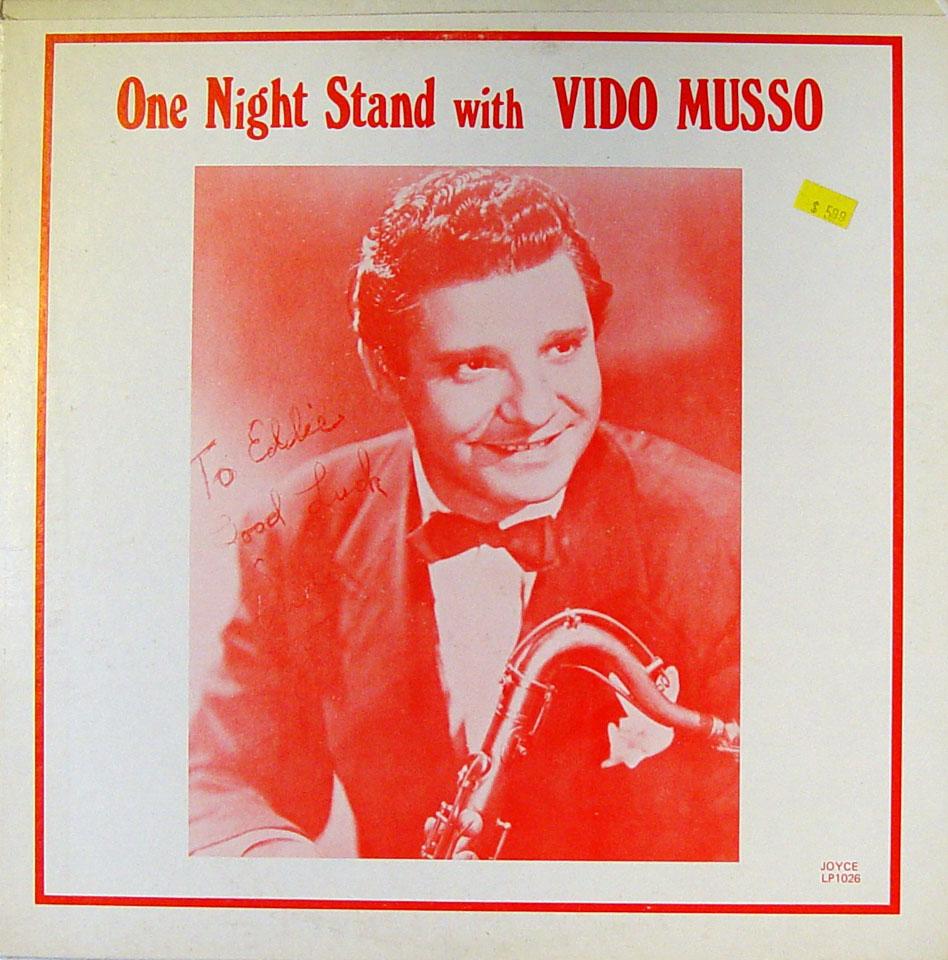 "Vido Musso Vinyl 12"" (New)"