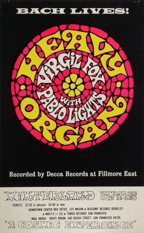 Virgil Fox Poster
