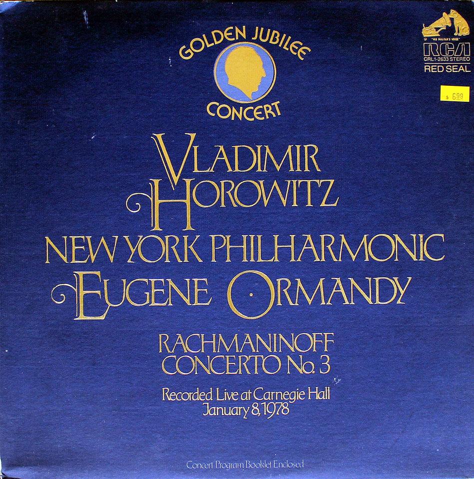 "Vladimir Horowitz Vinyl 12"" (Used)"