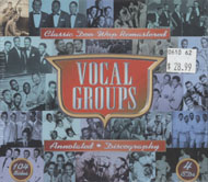 Vocal Groups: Classic Doo Wop Remastered CD