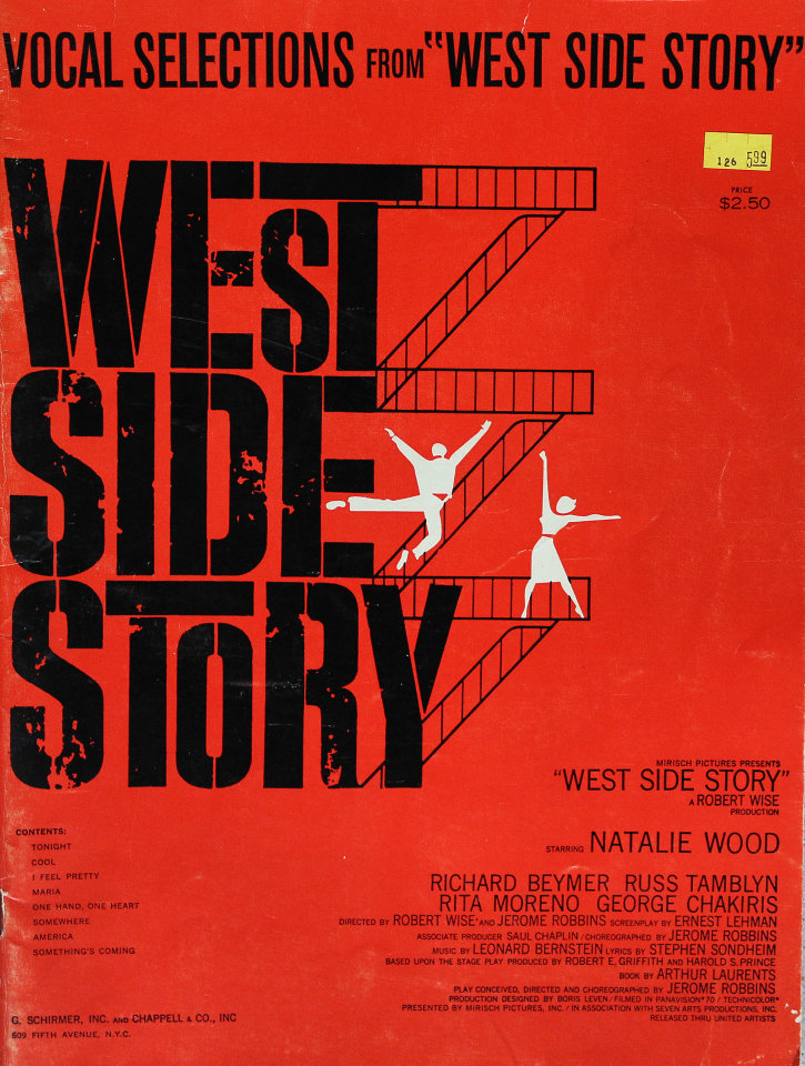 """Vocal Selections from """"West Side Story"""""""