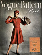 Vogue Magazine Pattern Book August 1945 Magazine