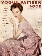 Vogue Magazine Pattern Book December 1952 Magazine